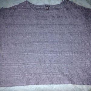 Torrid lace crop top size 3